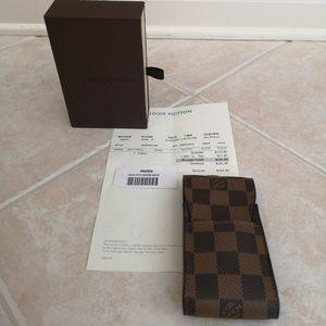 Louis Vuitton phone/ipod case